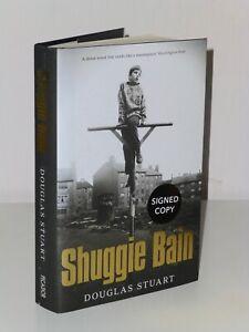 SIGNED 1st Print Shuggie Bain Douglas Stuart Picador 2020 UK HB Booker Winner