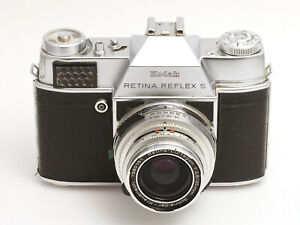 Kodak Retina Reflex S mit Schneider-Kreuznach Retina-Curtagon 2,8/35 mm
