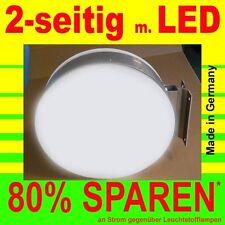 Caja Iluminada LED 2 CARAS led-premium Panel De Luz Redondo 600mm