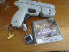 pour ps1 time crisis + pistolet g-con 45