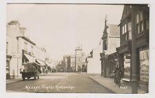 Gloucestershire postcard - Regent Street, Kingswood, Bristol - RP