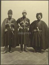 Immigrant Ellis Island USA 1906 Russian Cossacks 7x5 Inch Reprint Photo