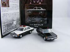 "Nissan Cedric 430 2-Set ""Western Police"" ,Tomica Tomytec LV Neo WP-02, 1/64"