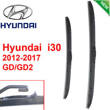 Pair Front Wndshield Windscreen Wiper blades for Hyundai i30  2012-2017 GD GD2