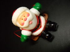 Vintage Designers Collection Christmas Tree Ornament, dated 1981, Swinging Santa