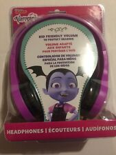Purple Disney Vampirina Headset Padded Adjustable Kid Friendly Volume  Headphone