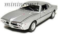 WELLY 22502 1967 67 PONTIAC FIREBIRD 1/24 DIECAST MODEL CAR SILVER