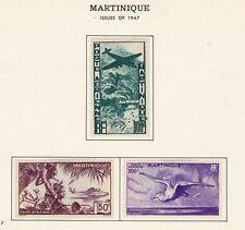 Martinique Stamp # C1 - C3, MHOG, VVF,  BOB, SCV $59.50