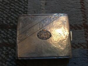 Rare German Ww1 Freikorps Cigarette Case