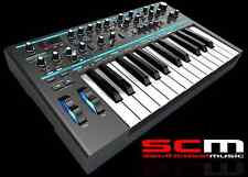 Novation Bass Station II 2 Analogue Synth Synthesiser Midi Keyboard