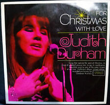 JUDITH DURHAM (THE SEEKERS) FOR CHRISTMAS WITH LOVE AUSTRALIAN LP