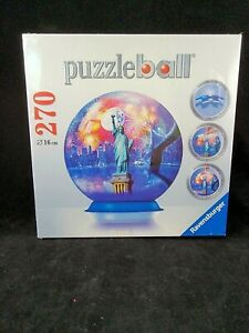 Ravensburger New York City 270 Pc. Puzzle Ball Jigsaw NEW