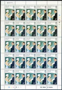 Turks & Caicos 1977 Silver Jubile set in mint sheets 25 x 3 (2021/10/18#13)