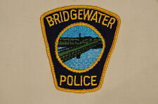 Canadian Nova Scotia Bridgewater Police Patch Single