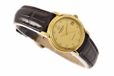 Clásico Raymond Weil Geneve Chapado En Oro Automático Reloj Mujer 1267