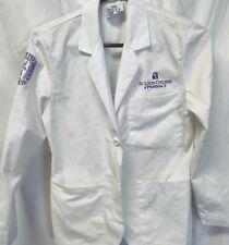St Louis College Of Pharmacy Womens  White Lab Coat sz 0 petite