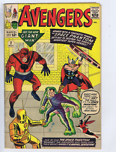 Avengers #2 Marvel 1963 The Avengers Battle The Space Phantom