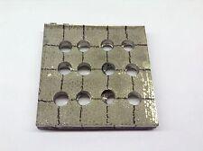 NICKEL CATHODE 100x100x12mm 1034g Ni 99.9% - FREE POSTAGE & PACKING!