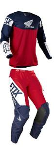 2021 Fox Racing 180 Honda Adult Pant & Jersey Combo Motocross Mx Atv Riding