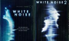WHITE NOISE 1&2: Michael Keaton- Nathan Fillion- Kattee Sackhoff- NEW 2 DVD