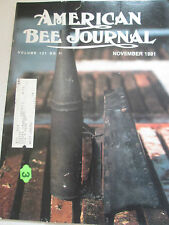 1991 American Bee Journal - Honey Plants from Cuttings; Breeding Bees