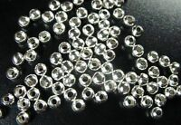 1500PCS Silver plated metal spacer beads 3.2mm #10251