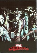 Marvel Masterpieces 2007 Alex Ross Splash Chase Card #1