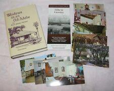 Postcards + Book Windows Old Adobe Palomares Spanish Rancho San Jose Garner