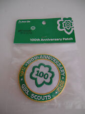 GIRL SCOUT Official 100th Anniversary Souvenir Patch 2012 ~ NEW