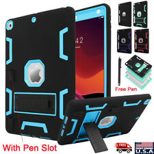 For iPad 10.2'' 2019 7th Generation Armor Heavy Duty Shockproof Case Stand Cover