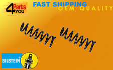 2x BILSTEIN VW TOURAN 2003- 1T1 1T2 COIL SPRINGS REAR SUSPENSION