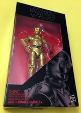 Star Wars C-3PO RED ARM Black Series ACTION FIGURE Resistance Base threepio NIB