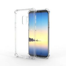Samsung Galaxy S8 S9 S10 Plus Note Transparent TPU Silicon Phone Case Shockproof