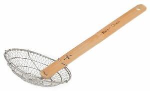 Helen Chen's Asian Kitchen Stainless Steel Spider Strainer Basket