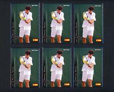 Lot of (21) 2003 NetPro International Glossy Series Rafael Nadal Tennis Rookie