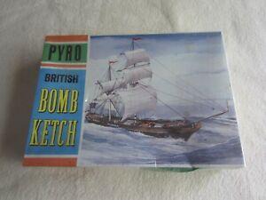 Pyro British Bomb Ketch Plastic Model Kit NIP