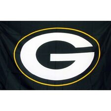 Green Bay Packers Flag polyester Metal grommets Banner Sign Display 3' X 5'