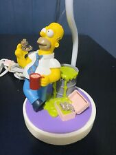 The Simpsons Cordelia Lighting Homer Simpson Table Lamp Doughnuts Nuclear-WORKS
