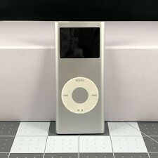 Apple iPod nano 2nd Generation Silver A1199 (4 GB) - Used, Poor Condition No Box
