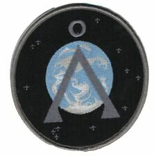 Stargate SG1 ecusson symbole terre 2nd version avec scratch stargate earth patch