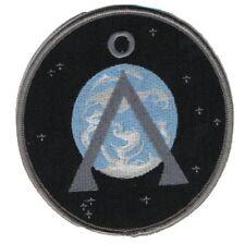 Stargate SG1 ecusson symbole terre 2nd version avec scratch stargate earth patch