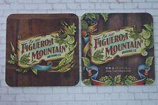 Beer Brewery Coaster ~ FIGUEROA MOUNTAIN Brewing ~ Santa Barbara, Los Olivos, CA