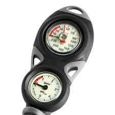 Mares Mission 2 Gauge Console Depth Gauge Compass Scuba Diving Gear