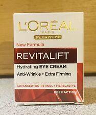 L'Oreal Revitalift Eye Cream 15ml Anti Wrinkle + Extra Firming Anti-Ageing. New.