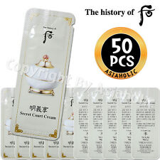 The history of Whoo Myunguihyang Secret Court Cream 1ml x 50pcs (50ml) Sample LG