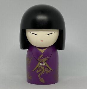 "Kimmidoll ""Tatsuko"" - Power - Maxi Doll Kokeshi Japan 10.5cm VGood Condition"