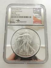 2018 1ST DAY OF ISSUE, *MERCANTI* AMERICAN EAGLE PROOF, NGC MS 70     #R330