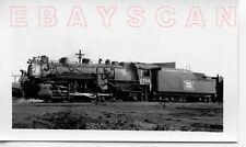 7K991 RP 1938 CRI&P ROCK ISLAND RAILROAD 2-8-2  ENGINE #2706 EL RENO OK