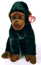 """Ty Beanie Buddy Baby Congo Gorilla Monkey Ape Plush Stuffed Animal 12"""" NWT"""