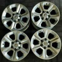 "4  Toyota 4Runner Tacoma 17"" Factory OEM Silver Wheels Rims 75153"